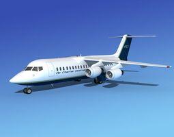 BAe 146-300 Air Charter Intl 3D model