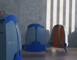 GORE-TEX fabric Backpack 3D