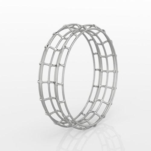 lines ring 3d model stl 3dm 1