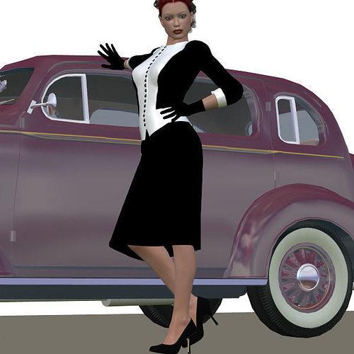 v4 retro outfit 3d model pz3 pp2 1