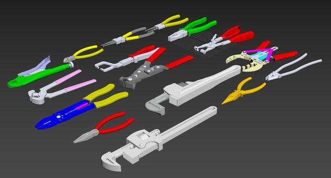 Pliers | 3D model