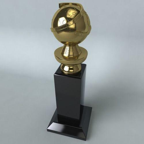 golden globe award 3d model max obj mtl 3ds c4d lwo lw lws ma mb 1