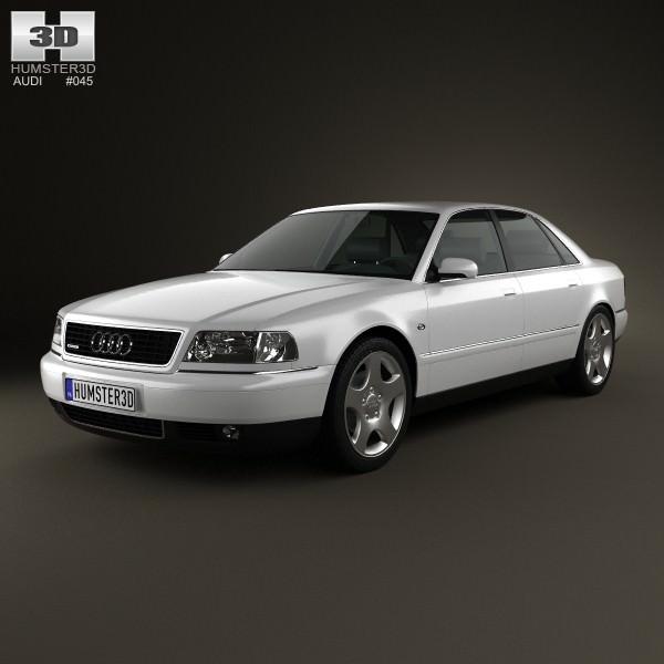 Audi A8 D2 1999 3d Model Max Obj 3ds Fbx C4d Lwo Lw Lws 1 ...
