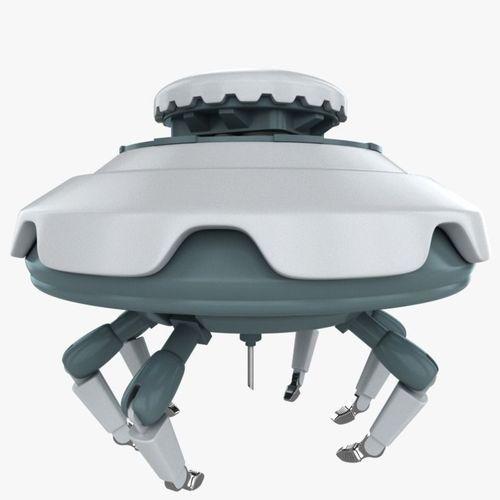 nano medical robot 3d model max obj mtl 3ds c4d lwo lw lws ma mb 1