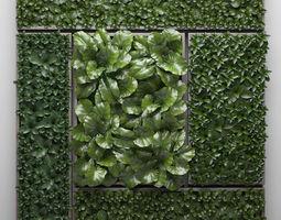 3D Vertical gardening picture