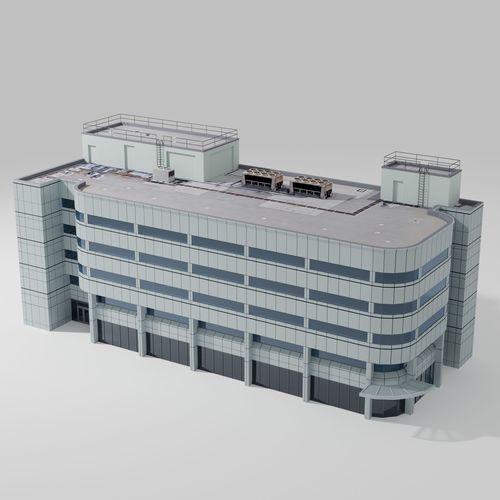 2000 broadway building 3d model max obj mtl fbx 1
