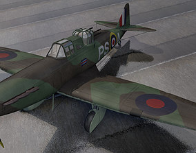 British WW2 Fighter Collection 01 3D