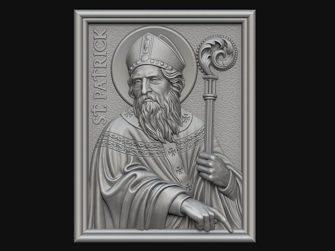 Saint Patrick Medallion