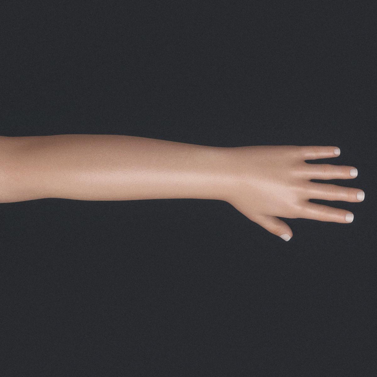 Realistic Cute Child Girl | 3D model