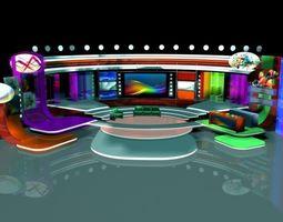 3D TV Studio Entertainment Set 10