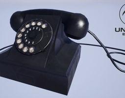 Old Phone 3D asset
