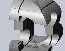 3D Logo Perspective Puzzle 3d-design