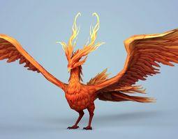Fire Bird Phoenix 3D model