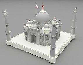 3D model Taj mahal