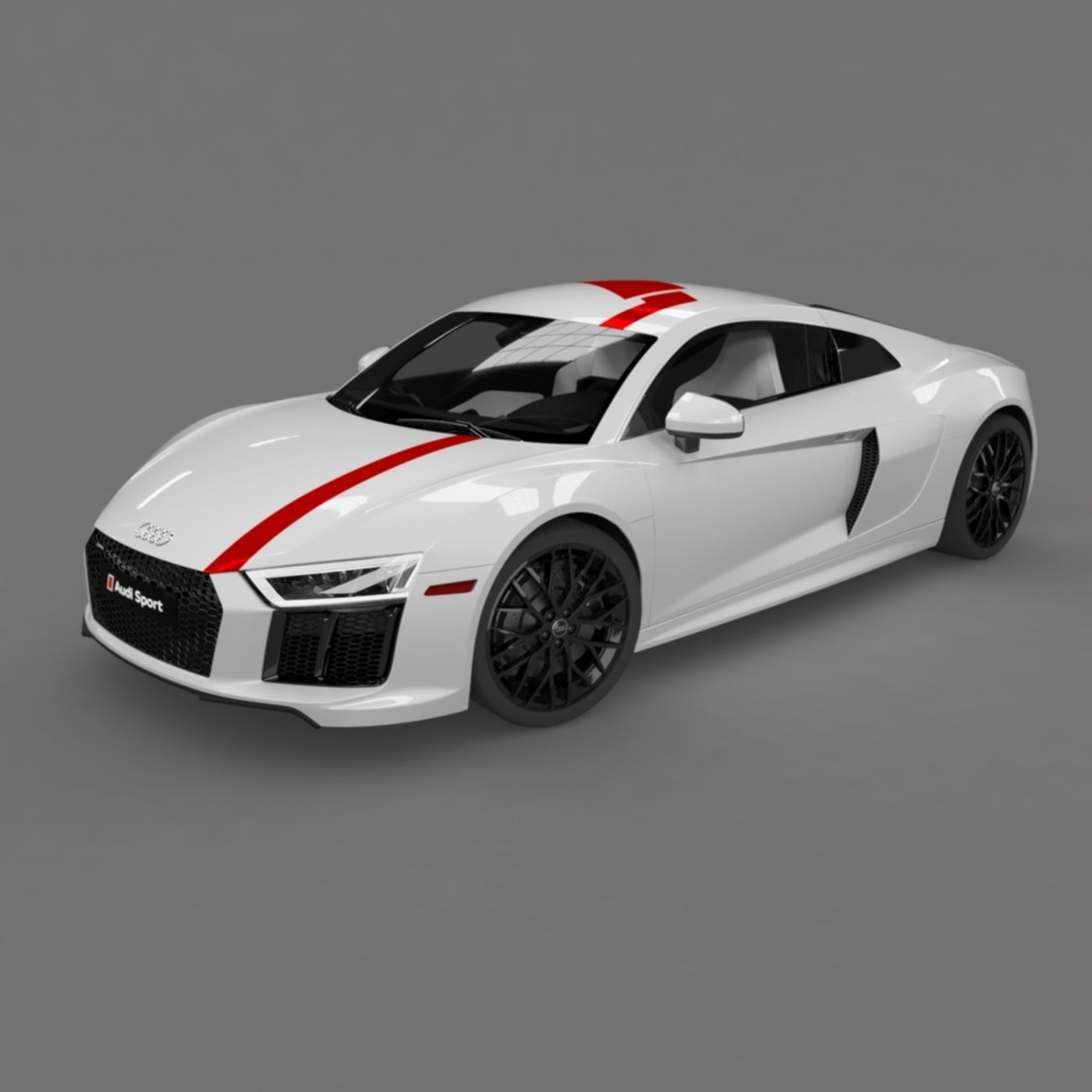 Audi R8 Coupe 2018 Model
