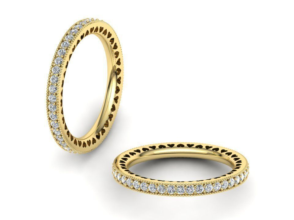 Radiant Hearts of Pando-a Band ring  0279
