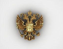 3D print model IMPERIAL RUSSIA PENDANT