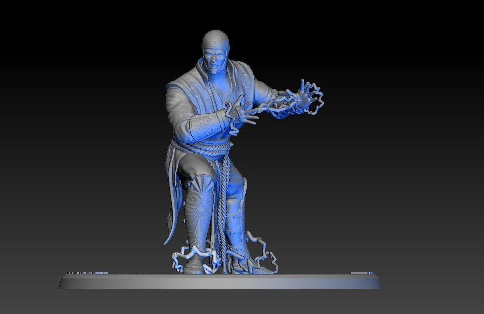 Raiden Mortal Kombat 3d Print Model Cgtrader