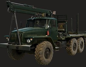 Russian Truck Ural 4320 3D