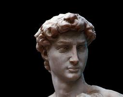 David Statue by Michelangelo 3D asset realtime