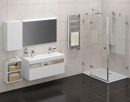 3D model Bathroom set 01