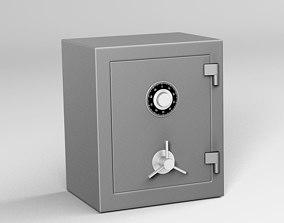 3D rigged Safe model
