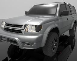 allterrain Toyota 4Runner 1999 Limited 3D