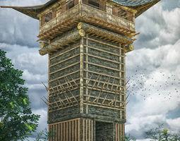 3D asset defence tower