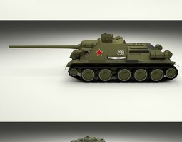 3D model USSR Armor Pack with Interior