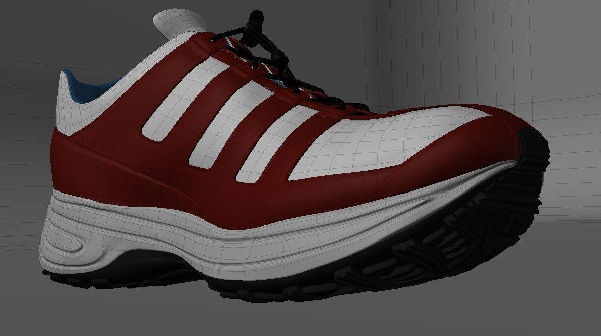 Running Shoe Were Patterns