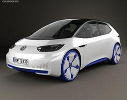 3D model Volkswagen ID 2016