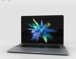 Apple MacBook Pro 15 inch 2016 Space 3D model