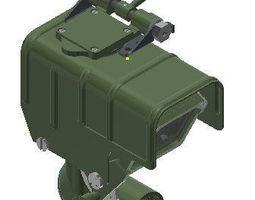 3D model ZPU Antiaircraft 145mm heavy machine gun 1