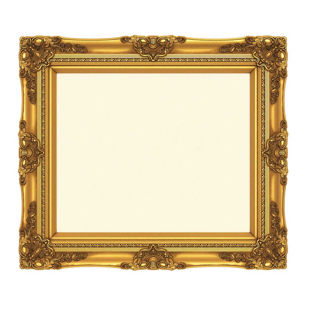 Frame picture gold v1