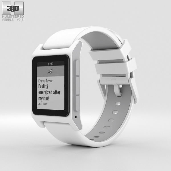 Pebble 2 White