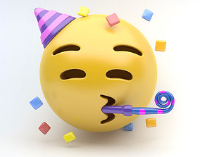 EMOJI PARTY 3D asset