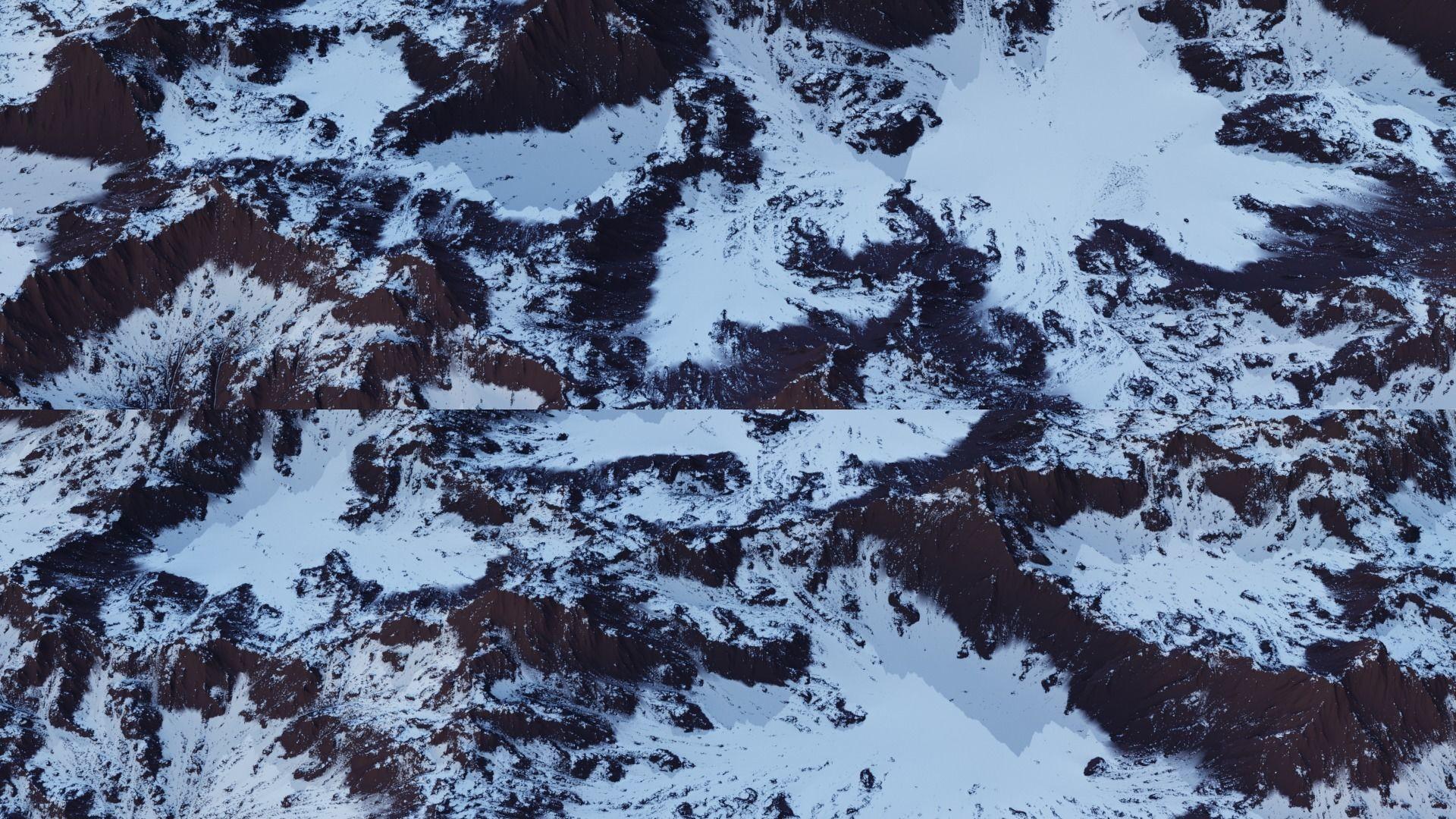 Snow Mountain 8K Heightmap Pack 2   Texture