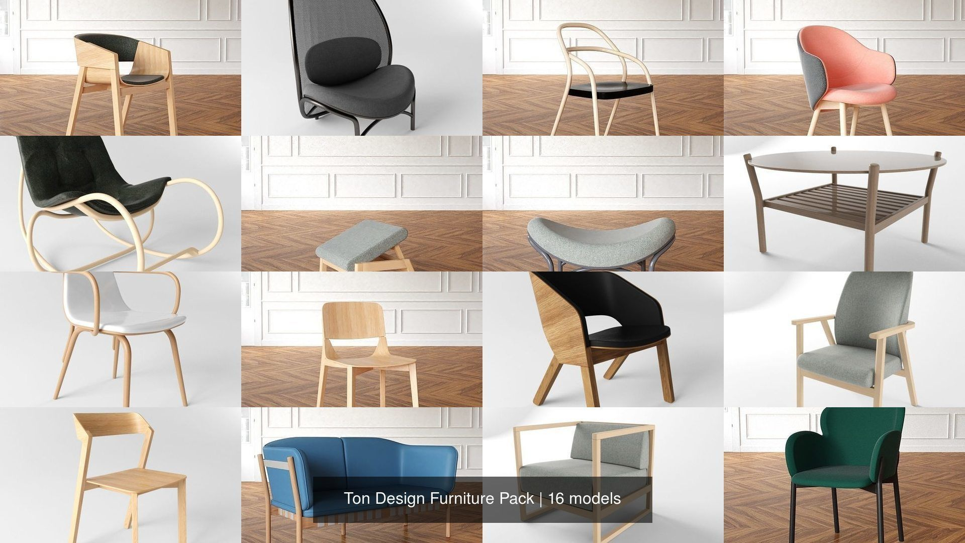 Ton Design 18 Furniture Model Pack