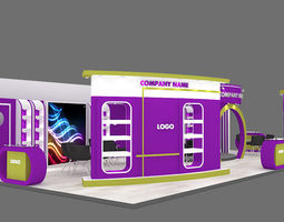 3D exhibition stand 30