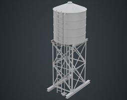 Water Tank 1A 3D model