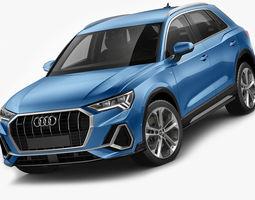 3D Audi Q3 2019