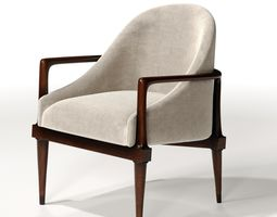 3D model Traditional Livingroom Chair