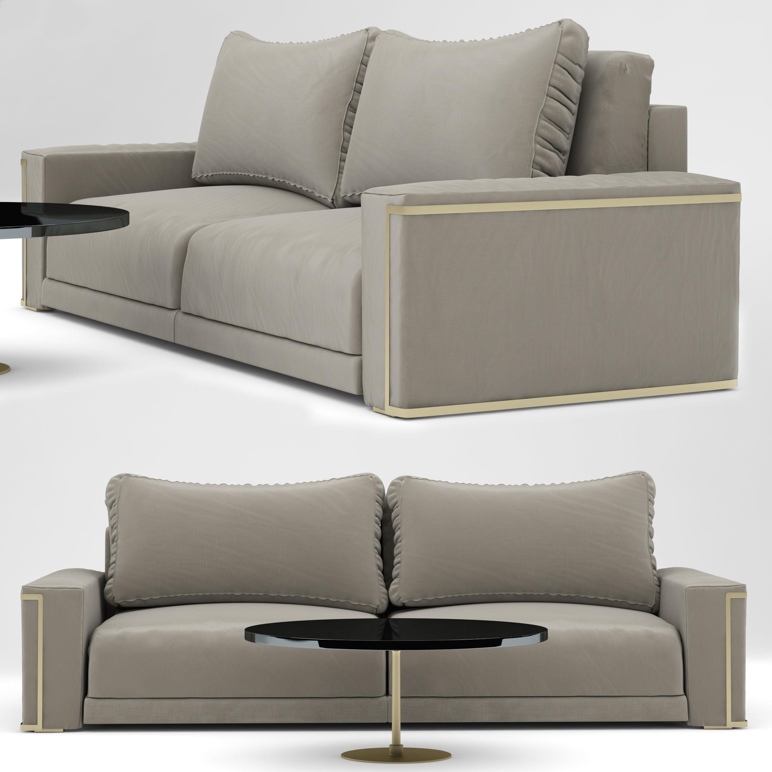 Stupendous Sofa Montgomery Sofa Design Fendi Casa 3D Model Alphanode Cool Chair Designs And Ideas Alphanodeonline