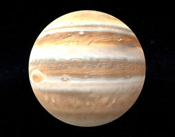 3D model Jupiter