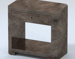 3D model Made Goods Wallace Nightstand Double