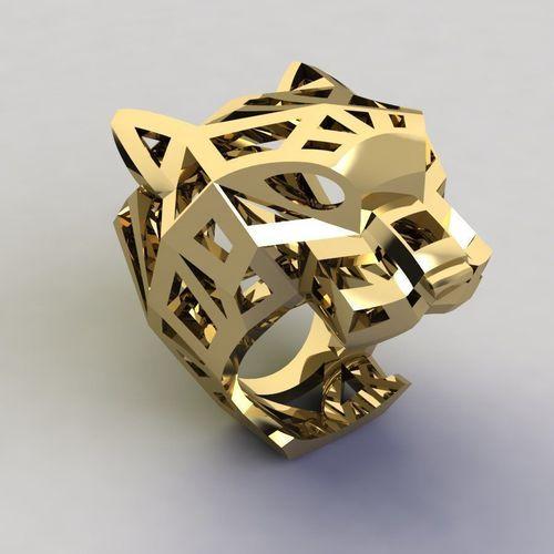59958eff65873 panther ring cartier 3d model stl 3dm 1 ...