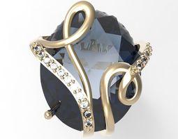 Ring Jessica Parker STL 3D printable model