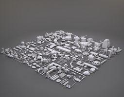 3D model Kitbash