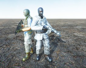 3D model Enemy soldier special forces