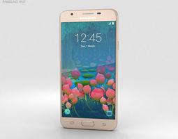 3D Samsung Galaxy J5 Prime Gold